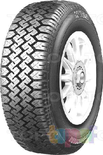 Шины Bridgestone M723. Зигзагообразные канавки