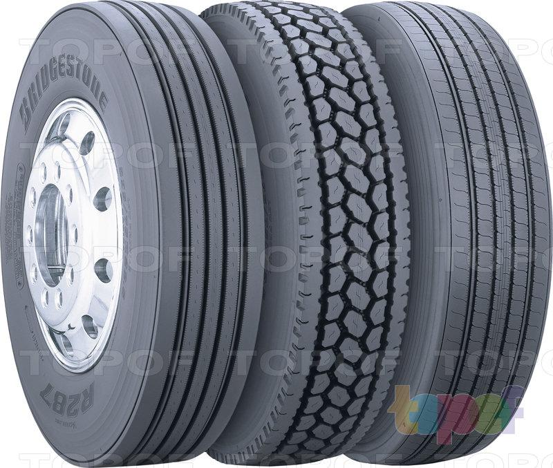 Шины Bridgestone M726 EL. Группа шин R287, M726 EL и R195