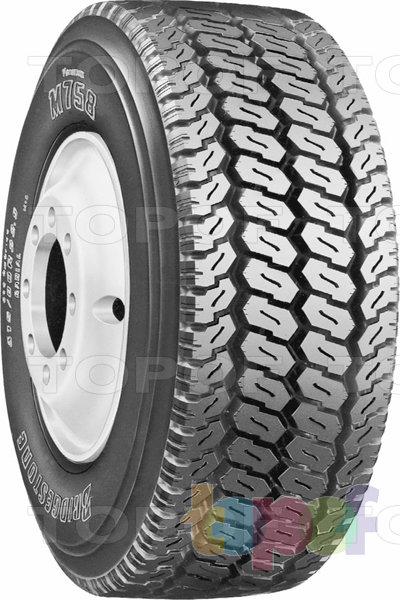 Шины Bridgestone M758. Шина для грузового автомобиля