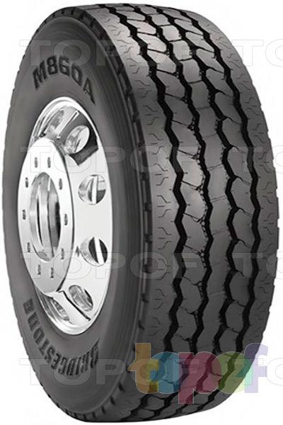 Шины Bridgestone M860A. Дорожная шина для грузового автомобиля