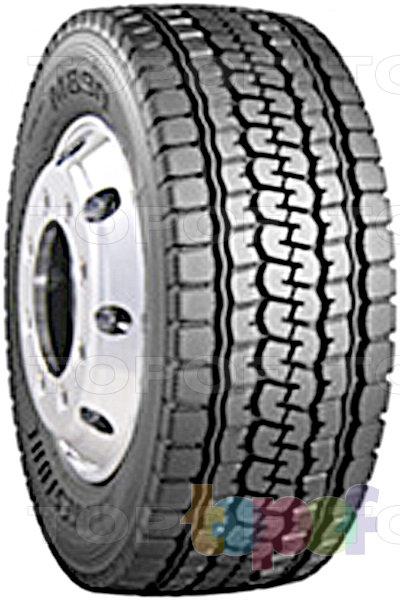 Шины Bridgestone M890. Всесезонная шина для грузового автомобиля