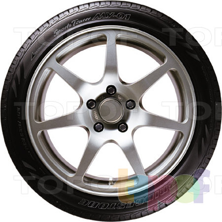 Шины Bridgestone MY-01 Sports Tourer. Вид сбоку