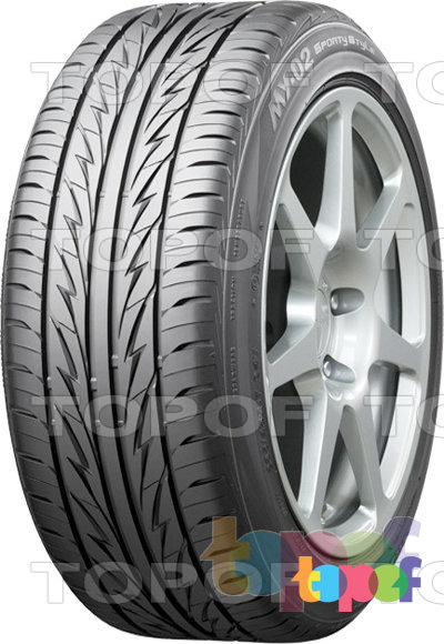 Шины Bridgestone MY-02 Sporty Style. Летняя шина для легкового автомобиля