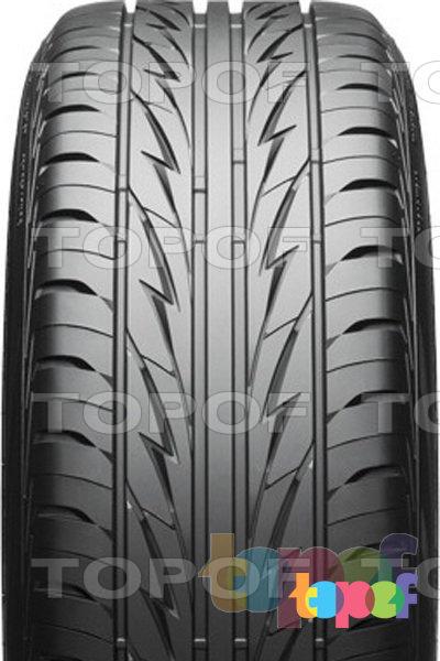 Шины Bridgestone MY-02 Sporty Style. Направленный рисунок протектора