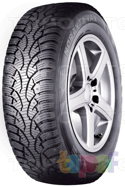 Шины Bridgestone Noranza Van. Зимняя шипованная шина для легкового автомобиля