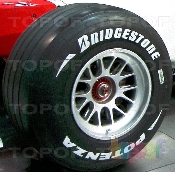 Шины Bridgestone Potenza F1. Potenza