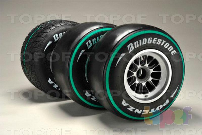 Шины Bridgestone Potenza F1. Potenza Формула 1