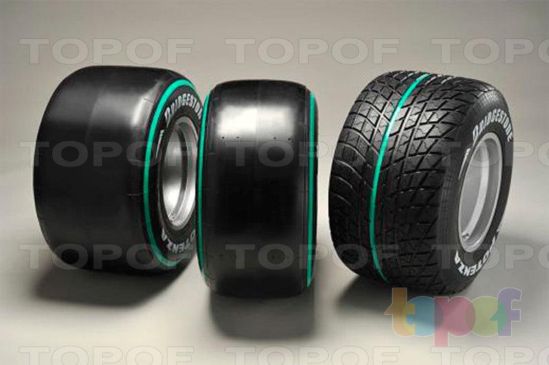 Шины Bridgestone Potenza F1. Potenza Race