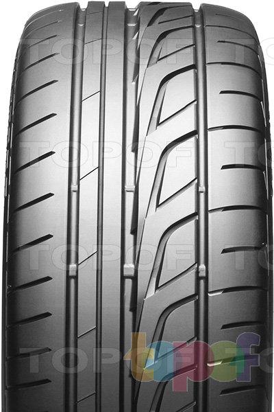 Шины Bridgestone Potenza RE001 Adrenalin. Асимметричный рисунок протектора
