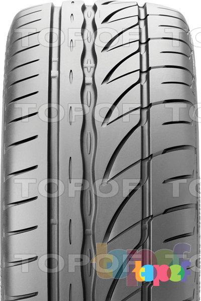 Шины Bridgestone Potenza RE002 Adrenalin. Асимметричный рисунок протектора