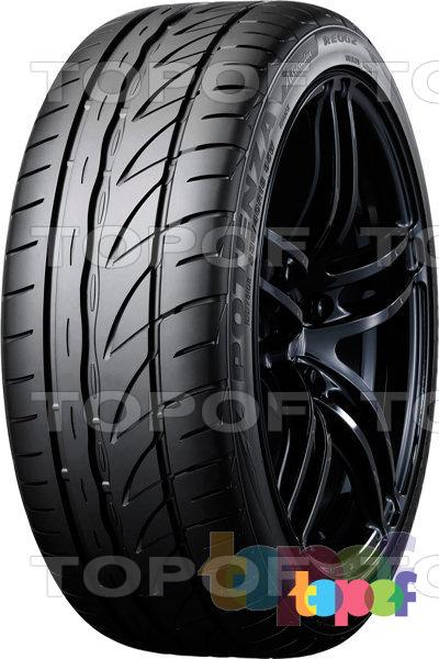 Шины Bridgestone Potenza RE002 Adrenalin. Плечевая зона шины