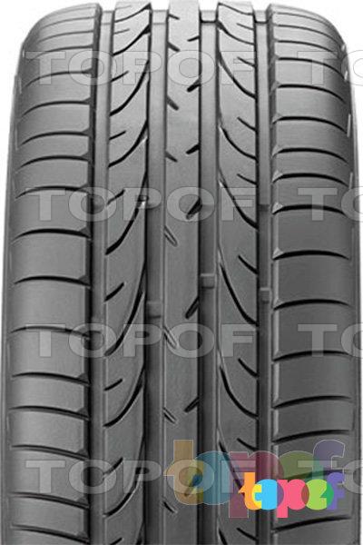 Шины Bridgestone Potenza RE050. Направленный рисунок протектора