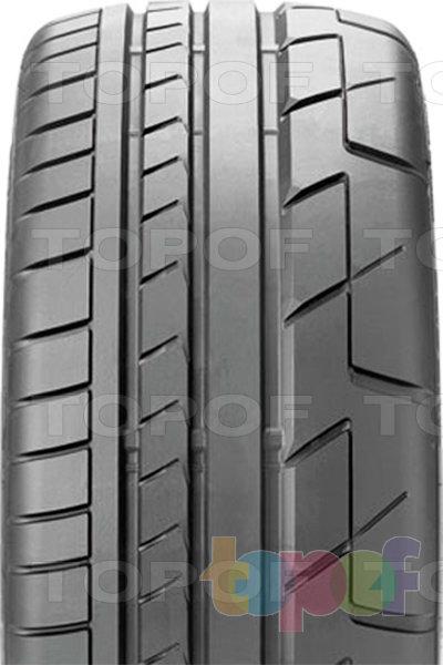 Шины Bridgestone Potenza RE070. Асимметричный рисунок протектора