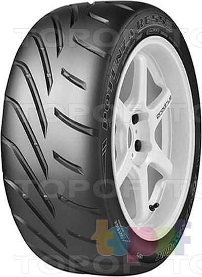 Шины Bridgestone Potenza RE55s. Асимметричный рисунок протектора