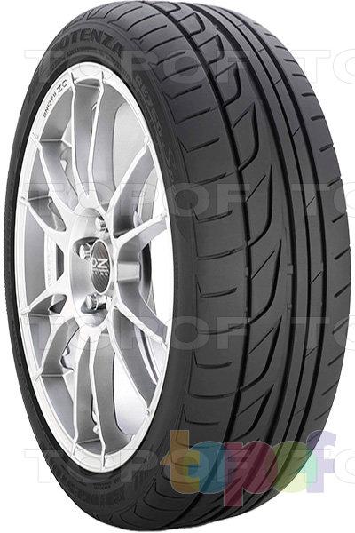 Шины Bridgestone Potenza RE760 Sport. Асимметричный рисунок протектора