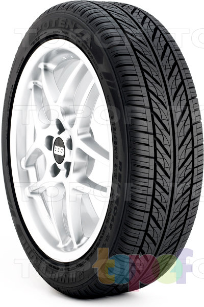 Шины Bridgestone Potenza RE960 A/S Pole Position