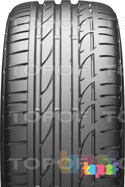 Шины Bridgestone Potenza S001. Асимметричный рисунок протектора
