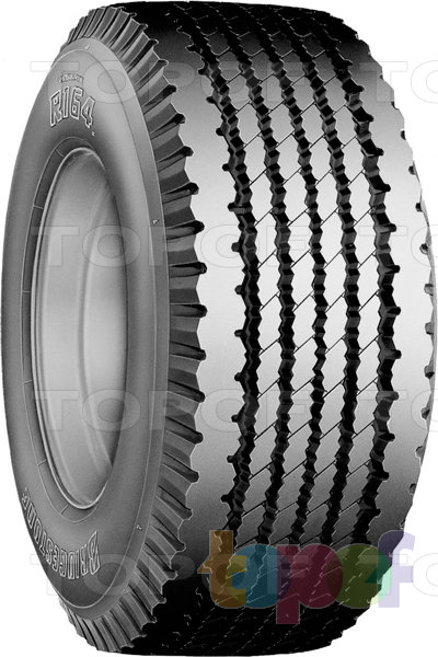 Шины Bridgestone R164. Грузовая шина для прицепа