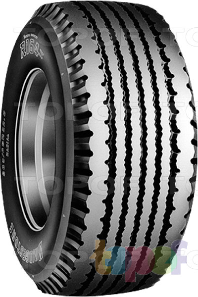Шины Bridgestone R164 II. Грузовая шина для прицепа
