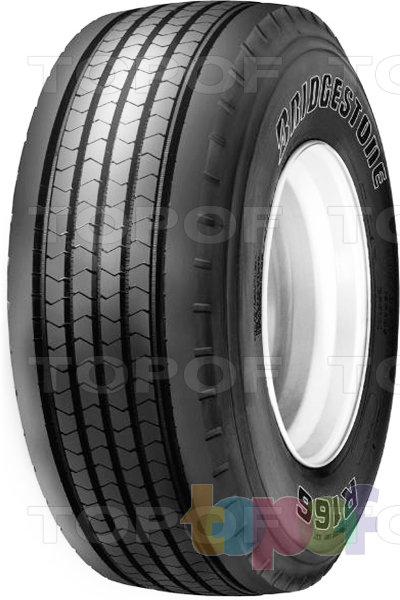 Шины Bridgestone R166. Грузовая шина для прицепа