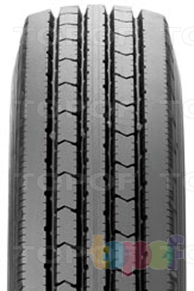 Шины Bridgestone R200. Продольные канавки на протекторе