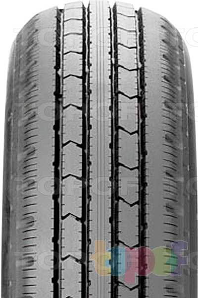 Шины Bridgestone R202. Центральное ребро протектора