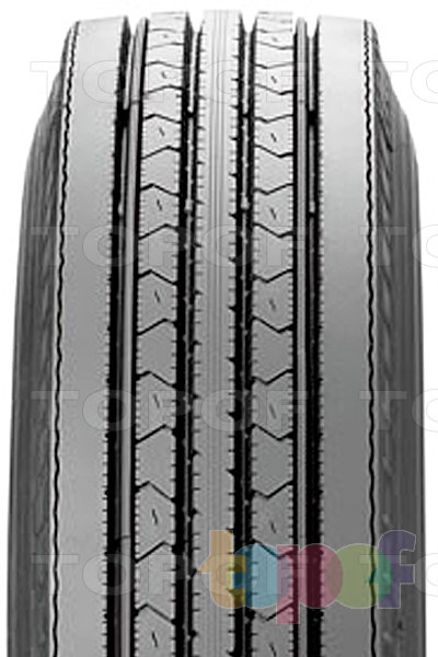 Шины Bridgestone R215. Продольные канавки на протекторе