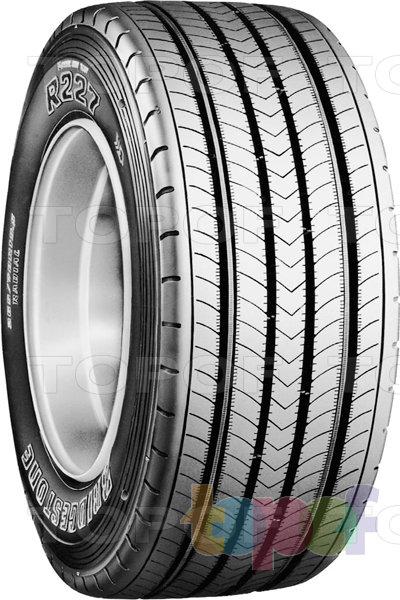 Шины Bridgestone R227. Грузовая шина для рулевой оси