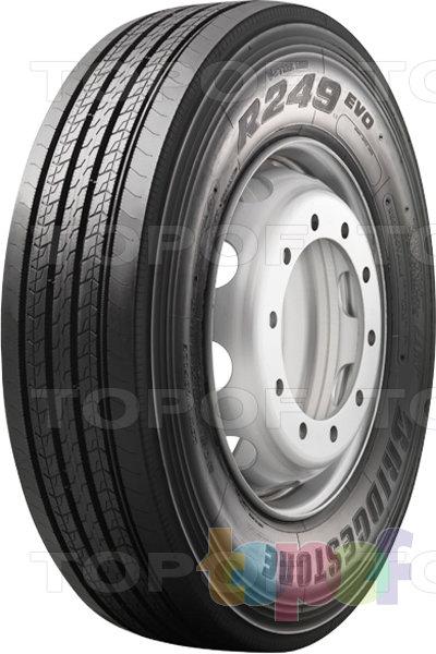 Шины Bridgestone R249 Evo. Дорожные грузовые шины для ведущей оси