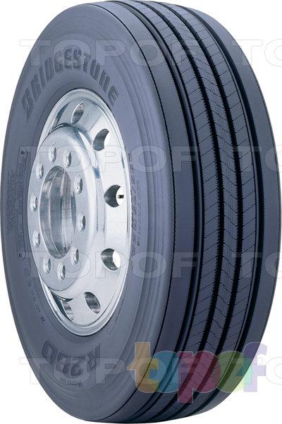 Шины Bridgestone R280. Грузовая шина для рулевой оси