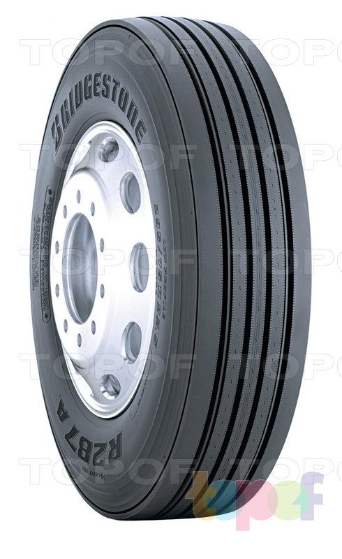 Шины Bridgestone R287A. Общий вид модели