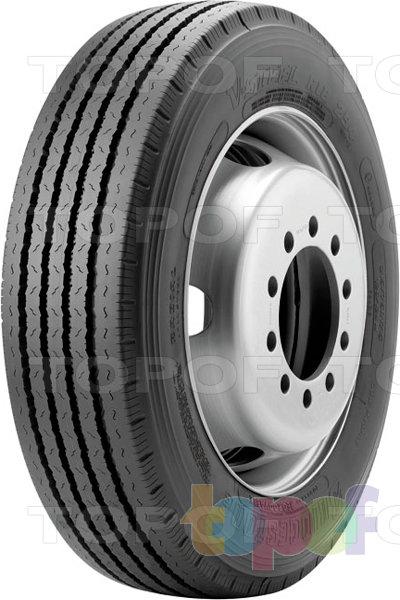 Шины Bridgestone R294. Грузовая шина для рулевой оси