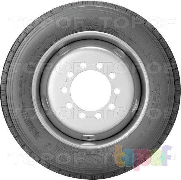 Шины Bridgestone R294. Вид сбоку