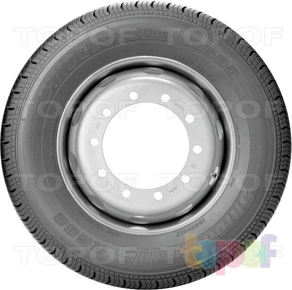 Шины Bridgestone R633. Изображение модели #3