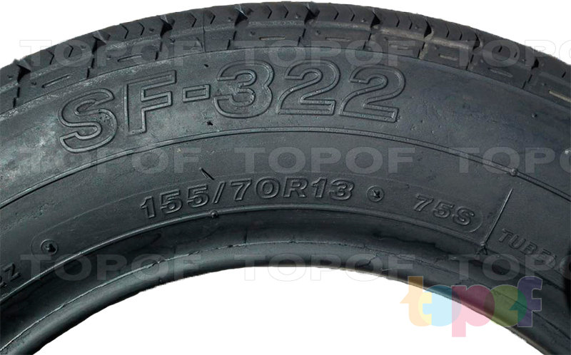 Шины Bridgestone SF322. Изображение модели #3