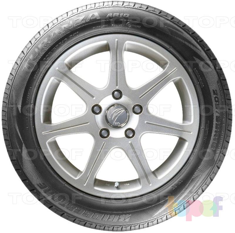 Шины Bridgestone Turanza AR10. Вид сбоку