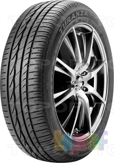 Шины Bridgestone Turanza ER300. Дорожная шина для легкового автомобиля