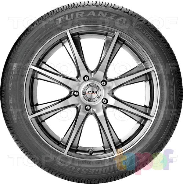 Шины Bridgestone Turanza ER300. Вид сбоку