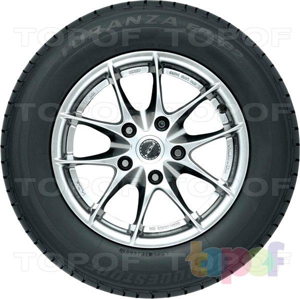 Шины Bridgestone Turanza ER592. Боковая стенка