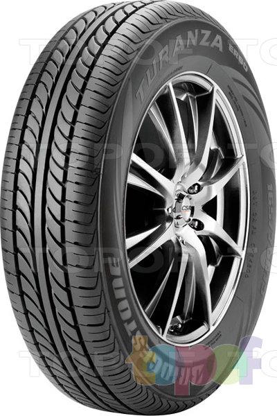 Шины Bridgestone Turanza ER60. Симметричный рисунок протектора