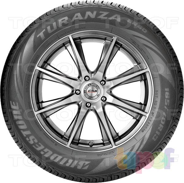 Шины Bridgestone Turanza ER60. Боковая стенка