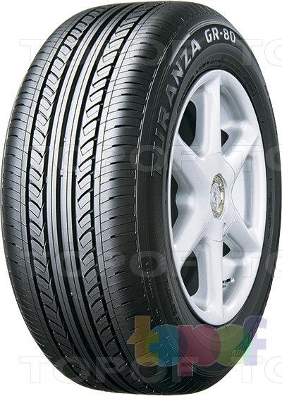 Шины Bridgestone Turanza GR-80. Летняя шина с направленным рисунком протектора