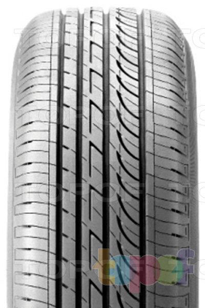 Шины Bridgestone Turanza GR-90. Асимметричный рисунок протектора