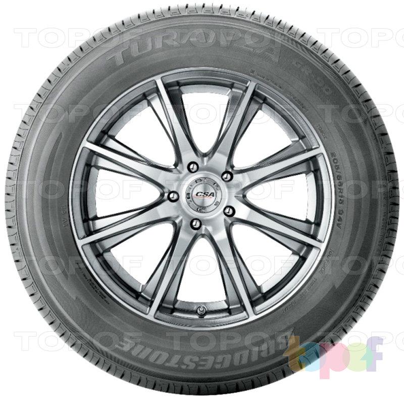 Шины Bridgestone Turanza GR-90. Вид сбоку