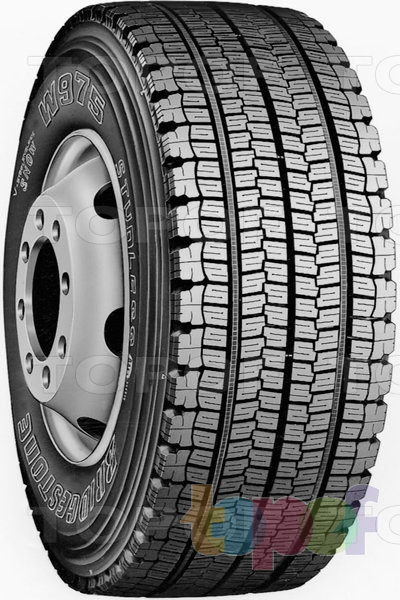 Шины Bridgestone W975. Зимняя шина для грузового автомобиля
