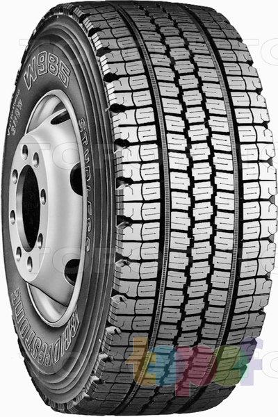 Шины Bridgestone W985. Зимняя шина для грузового автомобиля