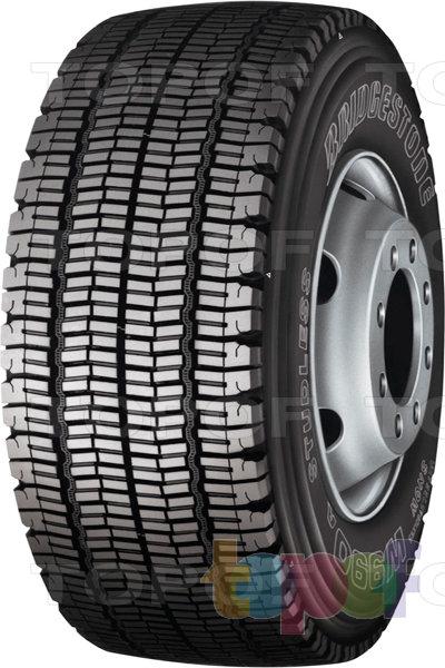 Шины Bridgestone W990. Грузовая шина для ведущей оси