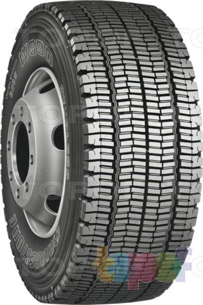 Шины Bridgestone W990. Шина для грузового автомобиля