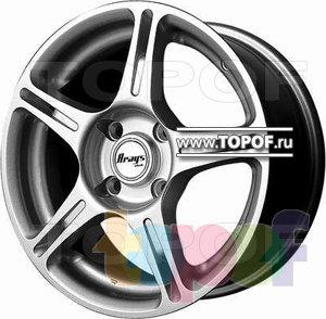 Колесные диски BTS A105. Изображение модели #1