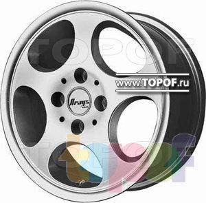 Колесные диски BTS A107. Изображение модели #1